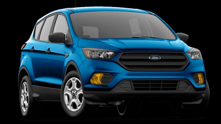 2020 Ford Escape S - lightning Blue
