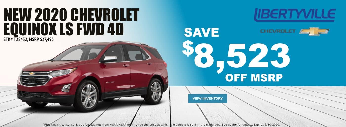 September-2020 Chevrolet Equinox