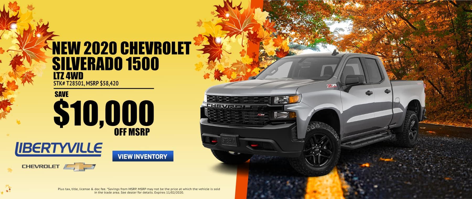 October-2020 SILVERADO 1500 New Website Libertyville