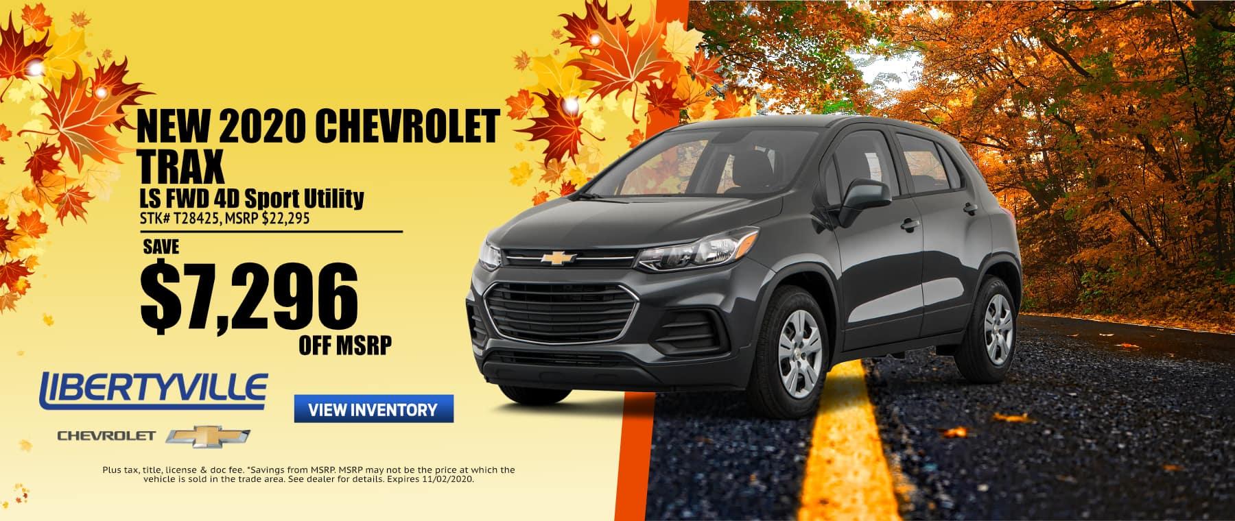 October-2020 Trax Libertyville