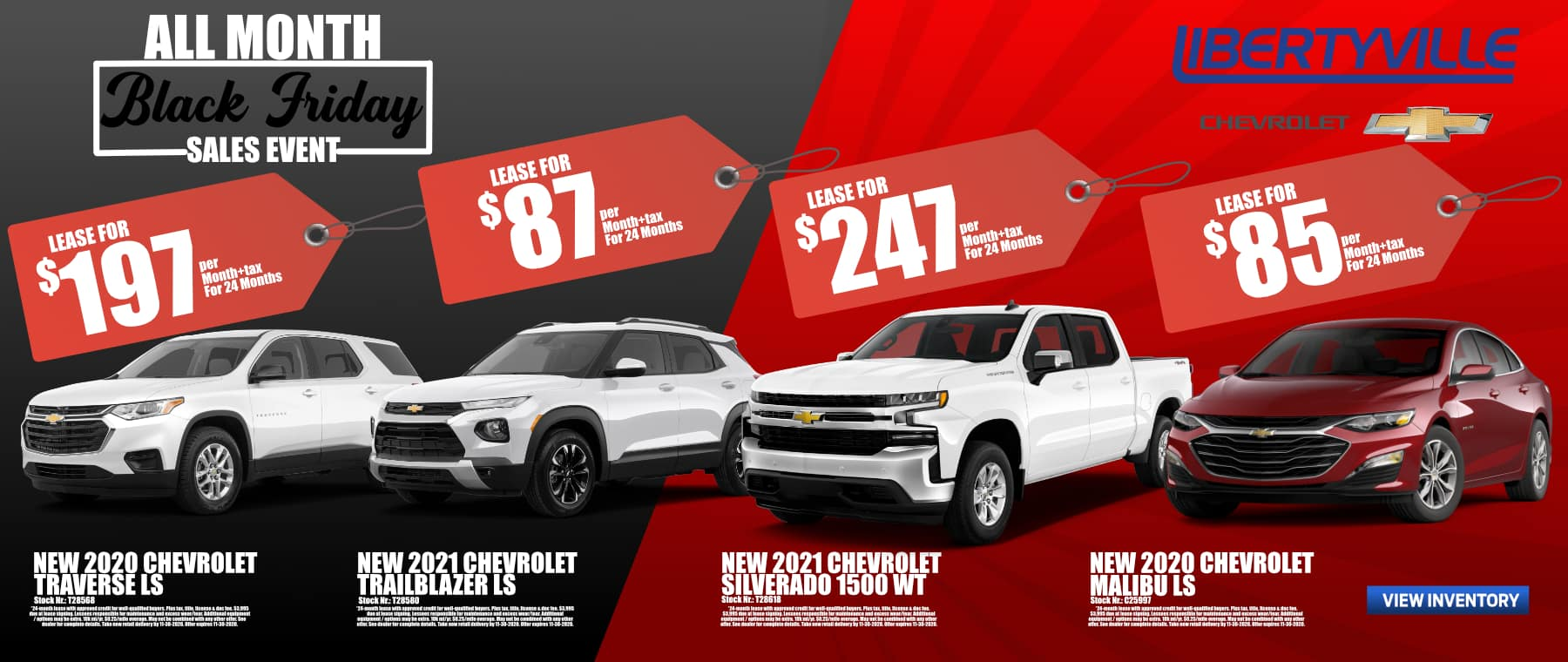 New Lease Financing Sale Specials Offers In Libertyville Chicago Il