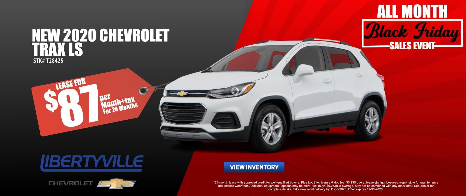 November-2020_TRAX_Lease_LIbertyville Chevrolet_2020_SONIC
