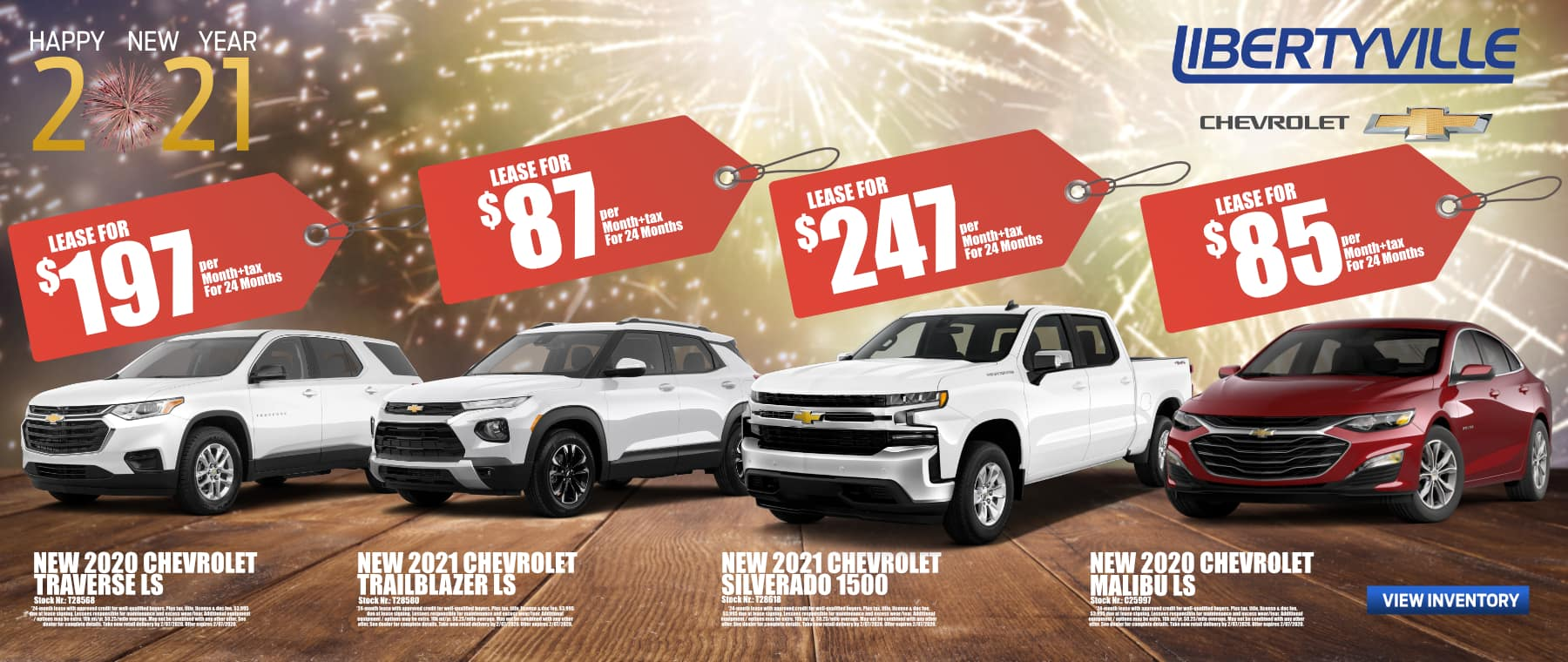 January 2021_Lease_Specials_Libertyville Chevrolet_2020_SONIC