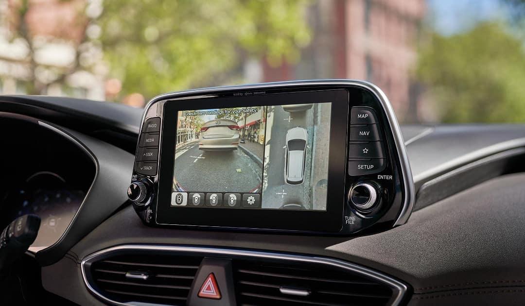 2019-Hyundai-Santa-Fe-surround-view-monitor