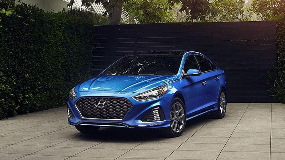 2019-Hyundai-Sonata-Parked