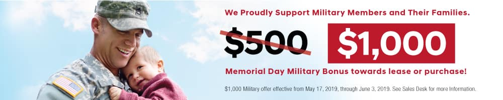 Memorial Day Bonus
