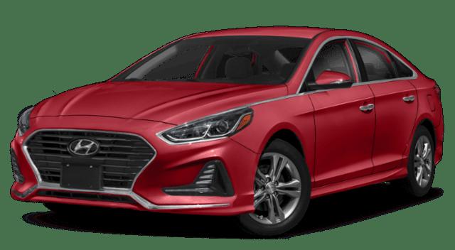 2019 Hyundai Sonata Red