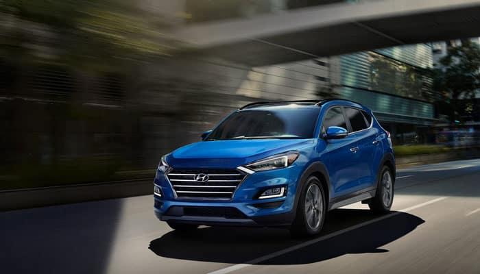 2019 Hyundai Tucson Driving on Road