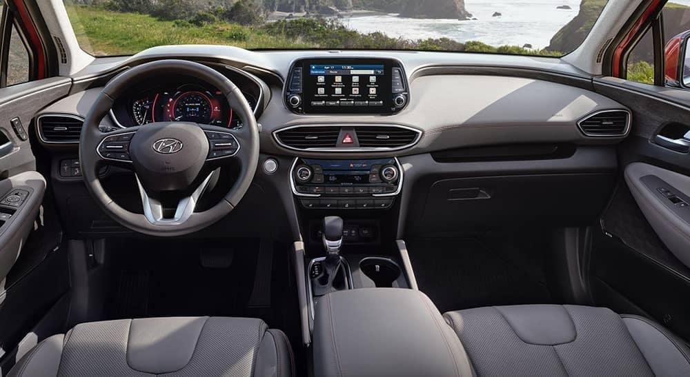 2020 Hyundai Santa Fe Dash