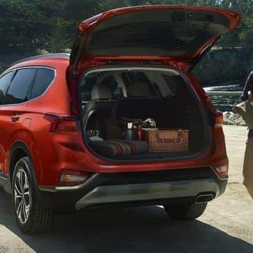 2020 Hyundai Santa Fe Open Trunk