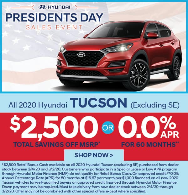 All 2020 Tuscan $2,500 off MSRP