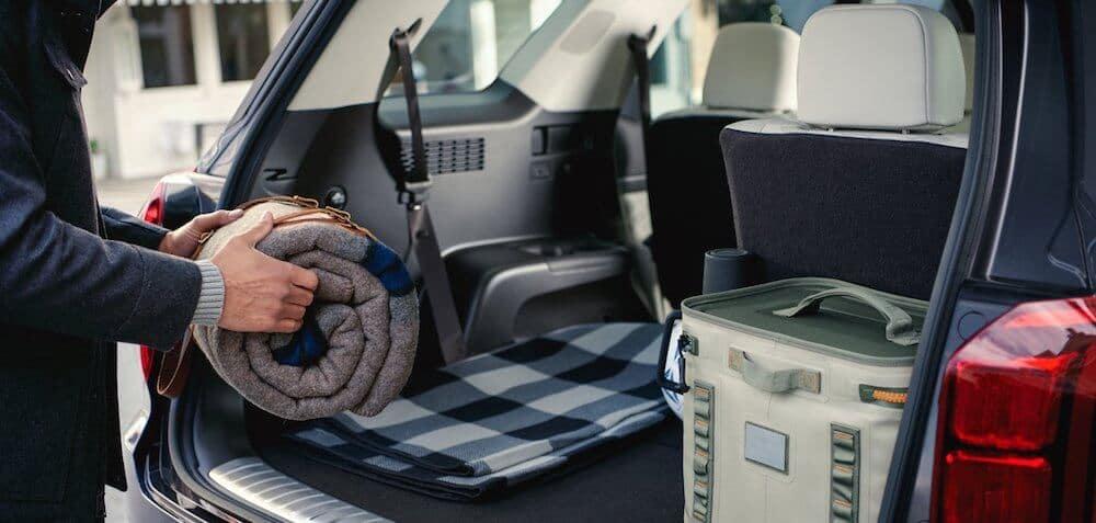 2021 Hyundai Palisade cargo space