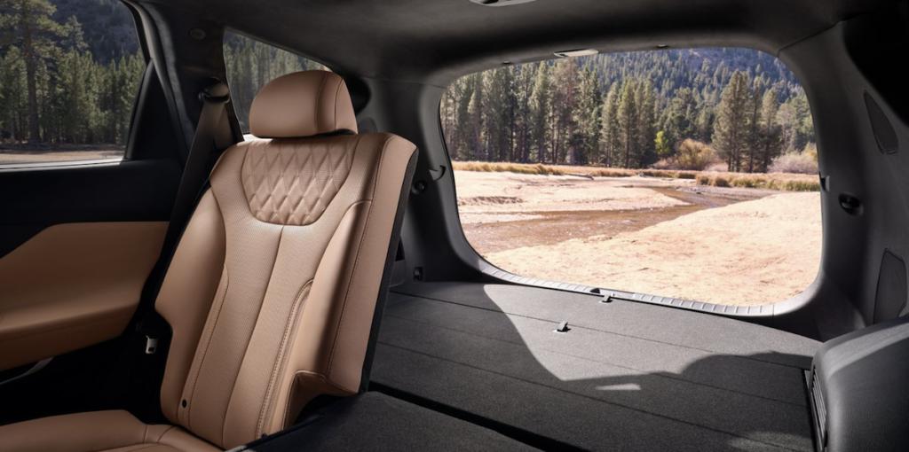 2021 Hyundai Santa Fe Cargo Space Seats Down Banner