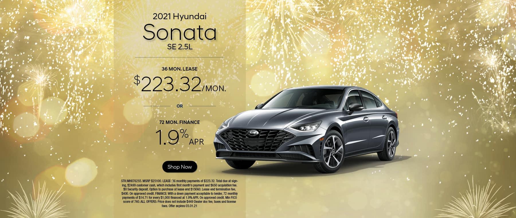 2021 Hyundai Sonata SE 2.5L