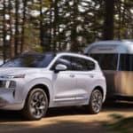 The 2021 Hyundai Santa Fe towing capacity sits at 3500 lbs
