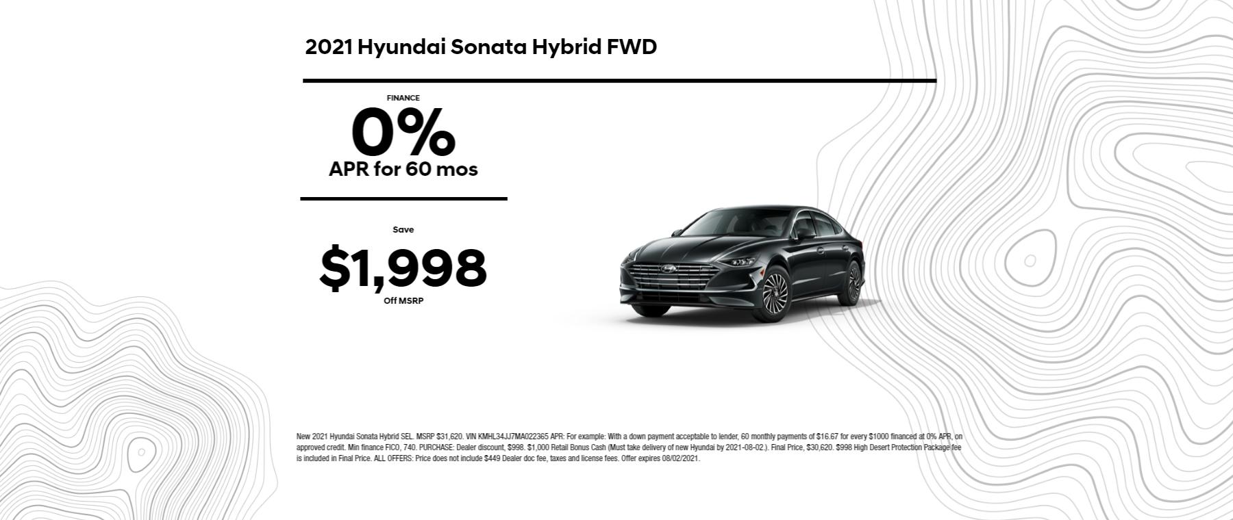 2021 Hyundai Sonata Hybrid FWD