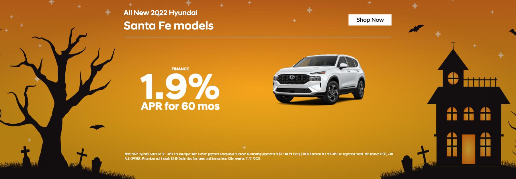 New 2022 Hyundai Santa Fe