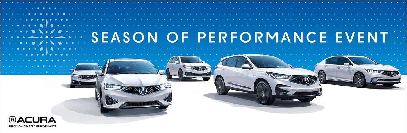 2018 Acura Season of Performance Event from Your Louisiana Acura Dealers