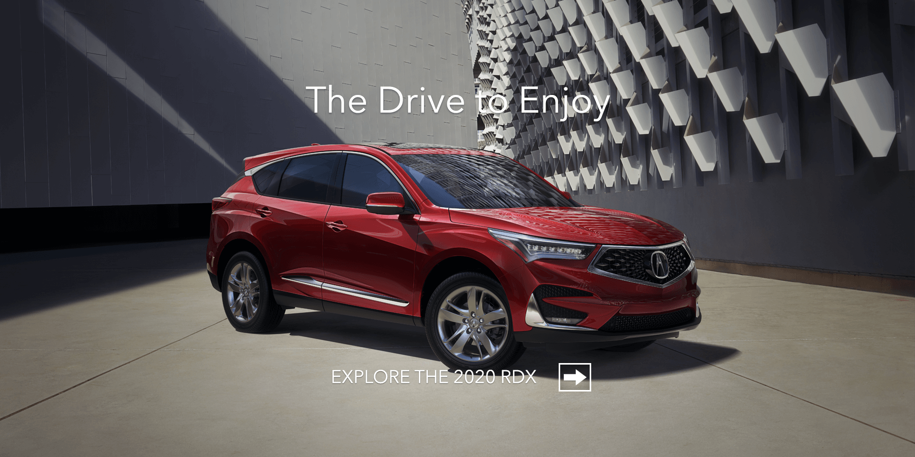 2020 Acura RDX Performance Red Pearl Front Angle HP Slide