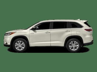 Toyota-HighlanderHybrid-White