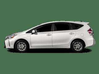 Toyota-Priusv-White