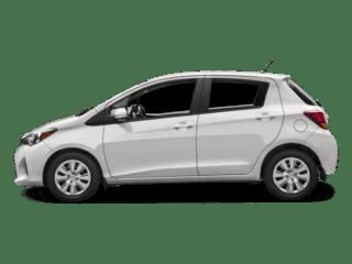 Toyota-Yaris-White