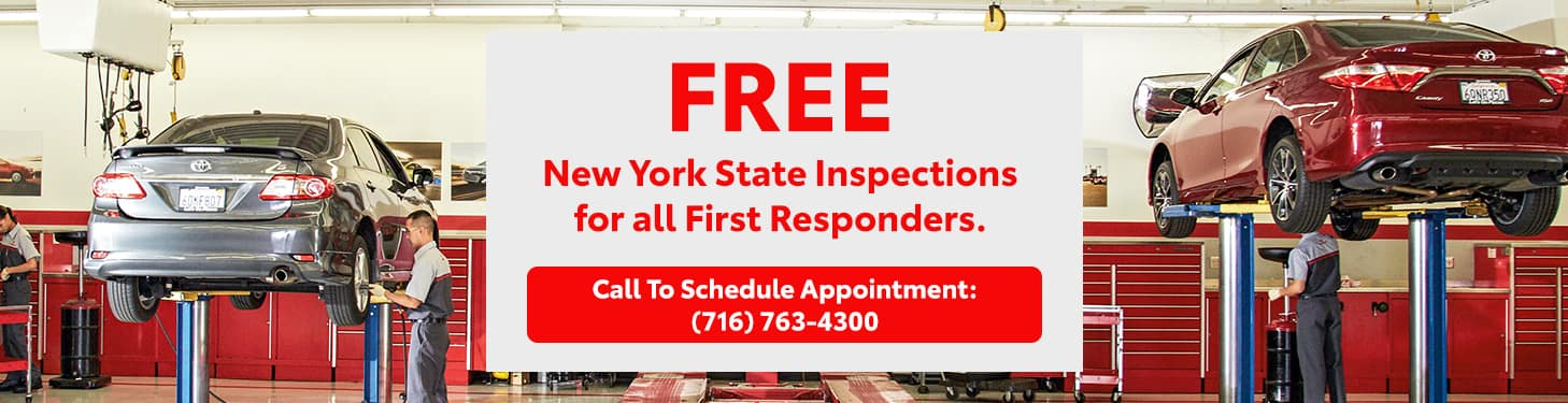 Free Inspections - First Responders