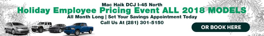 Mac Haik Holiday Sales Event