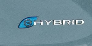 2017 Chrysler Pacifica Hybrid Badge