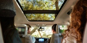 Chrysler-Pacifica-Hybrid-Rear-2017 Chrysler Pacifica Hybrid Rear Interior