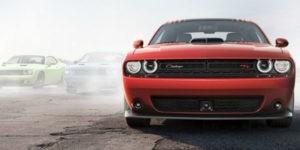2017 Dodge Challenger Front