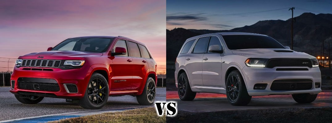 Chrysler Pacifica Lease >> 2018 Jeep Grand Cherokee Trackhawk vs 2018 Dodge Durango SRT Austin TX | Mac Haik Dodge Chrysler ...