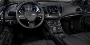 2017 Chrysler 200 Dashboard