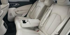 2017 Chrysler 200 Rear Seats