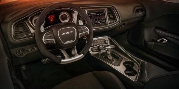Dodge Demon Interior