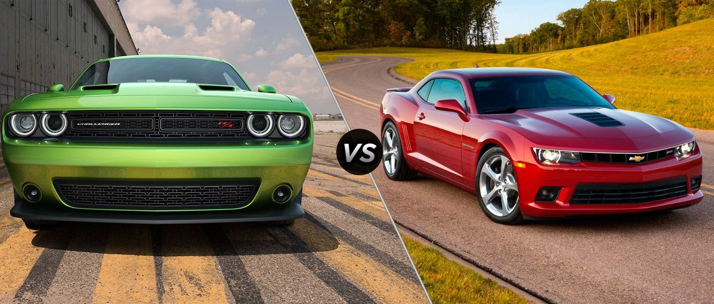 2015 Dodge Challenger Vs 2015 Chevy Camaro Austin Tx For