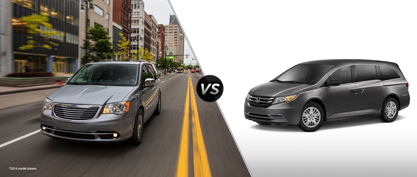 Town And Country Honda >> 2015 Chrysler Town And Country Vs 2015 Honda Odyssey Mac