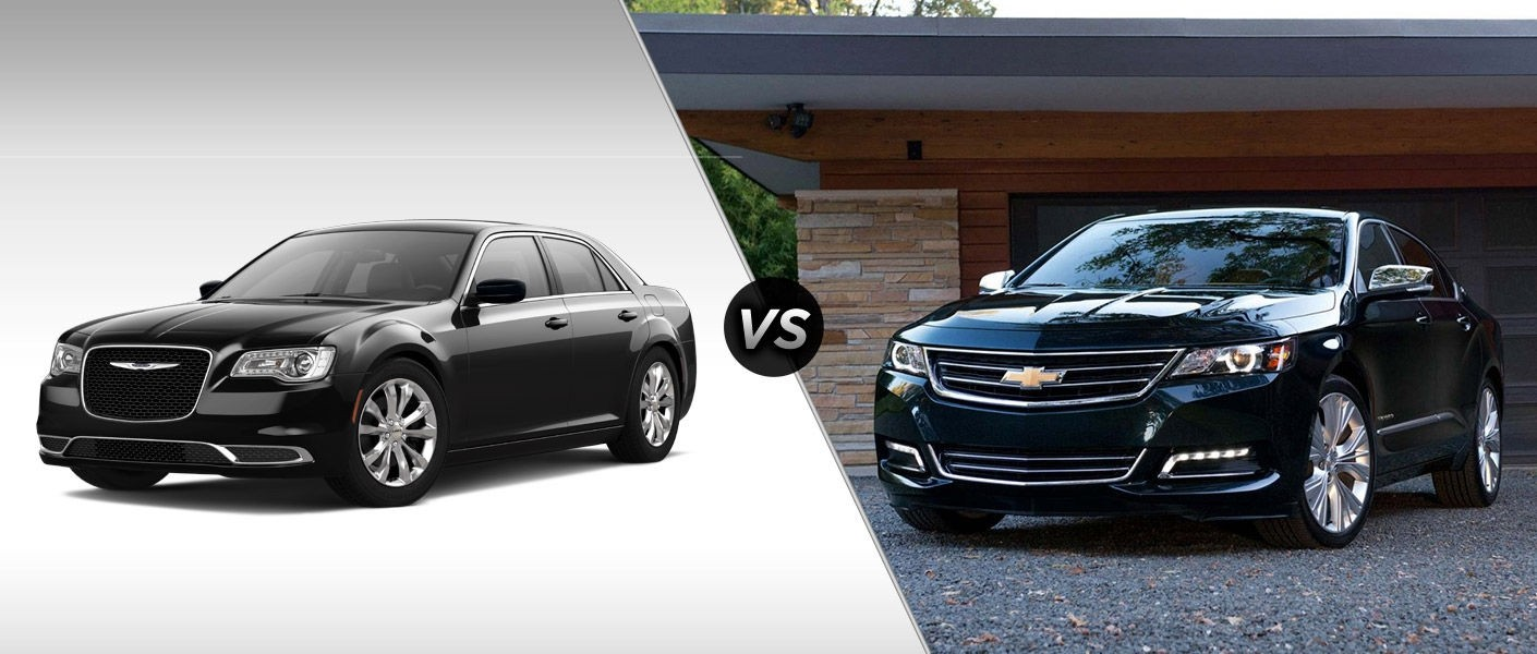 2015 Chrysler 300 Vs 2015 Chevy Impala Mac Haik Dodge Chrysler Jeep Ram Georgetown