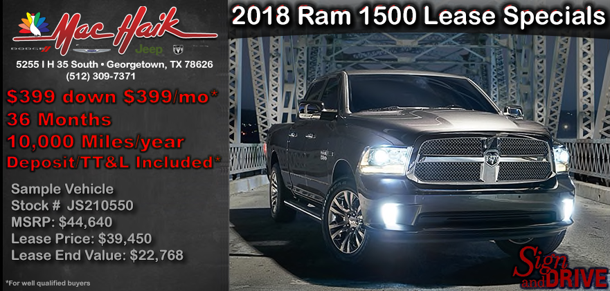 Ram 1500 Lease Specials