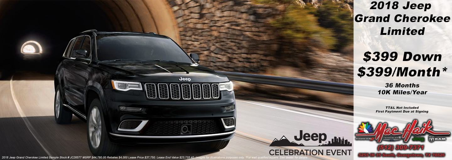2018 jeep lease offer