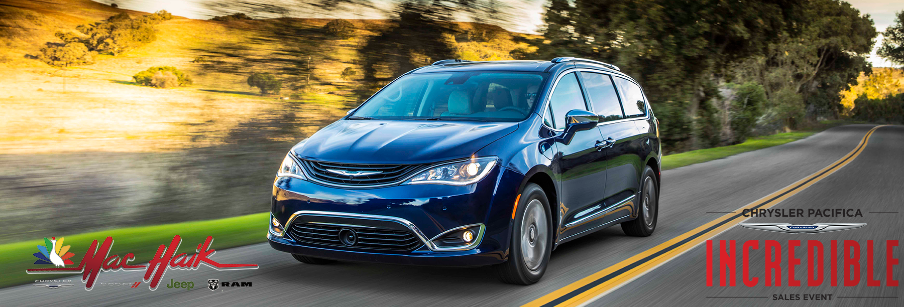Chrysler Pacifica INCREDIBLE Sales Event at Mac Haik of Georgetown