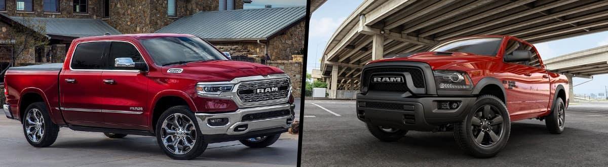 2019 RAM All New 1500 vs 2019 RAM 1500 Classic