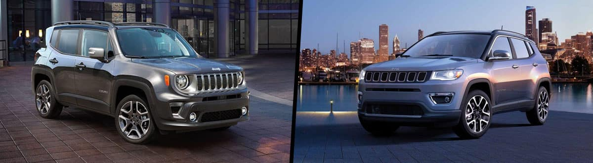 2019 Jeep Renegade vs 2019 Jeep Compass