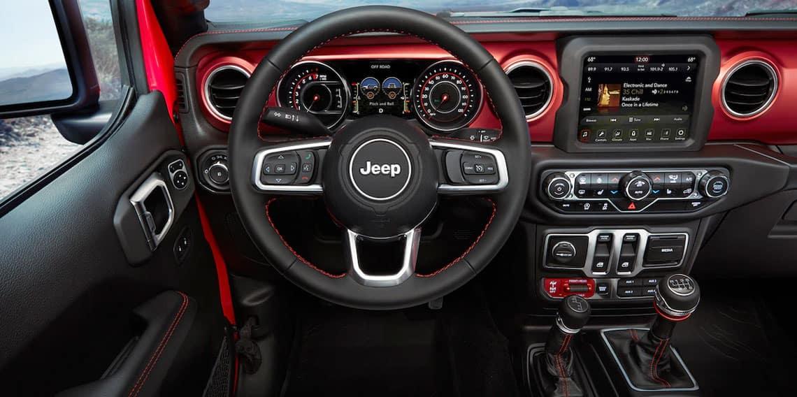 2020-Jeep-Wrangler-Interior  Mac Haik Dodge Chrysler Jeep Ram Georgetown