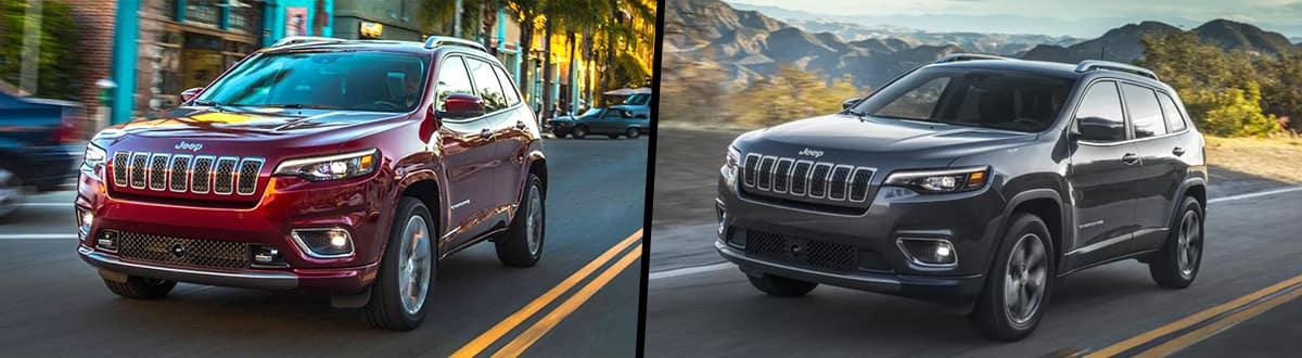 2020 Jeep Cherokee vs 2019 Jeep Cherokee