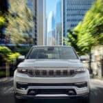 jeep grand wagoneer city driving