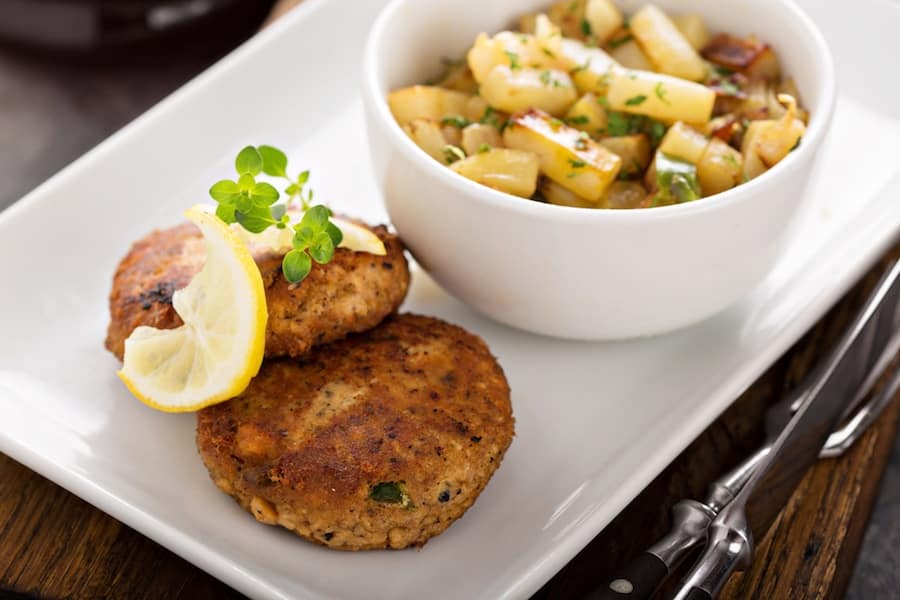 Riva Crabhouse Carb Cakes
