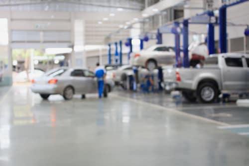 dealer service area