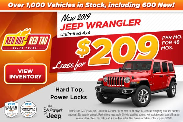 2019 JEEP WRANGLER UNLIMITED 4X4