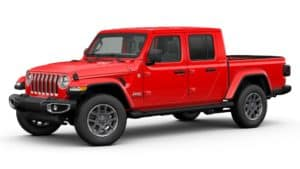 2020 Gladiator 4X4 Firecracker Red
